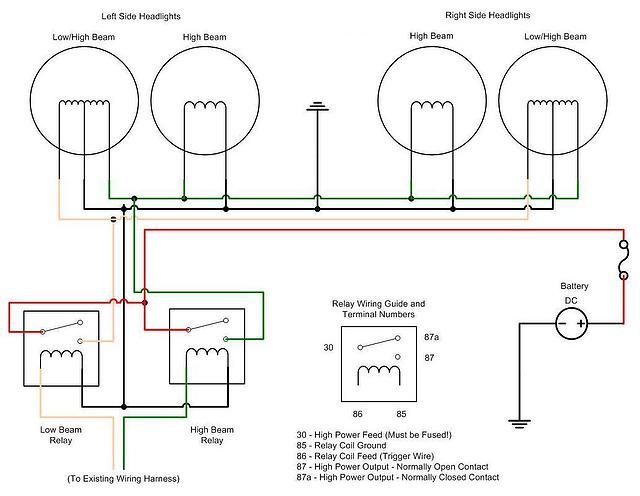 hella light relay wiring diagram