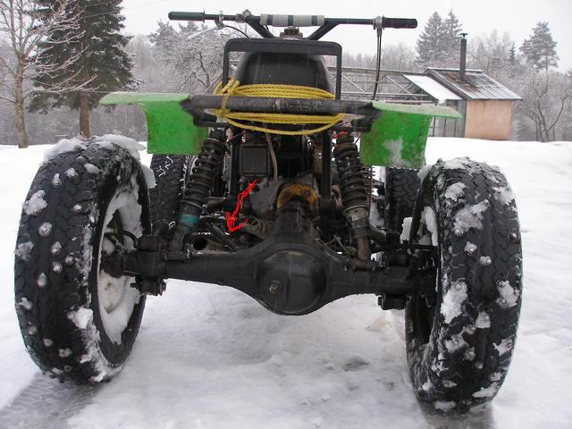 Снегоходы своими руками из урала