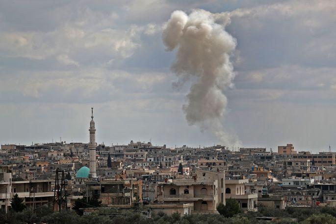 Turcijas iznīcinātājs virs Idlibas notriecis trešo Sīrijas kara lidmašīnu