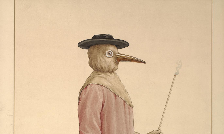 Foto: 17. gadsimta mēra ārstu biedējošo tērpu vēsture