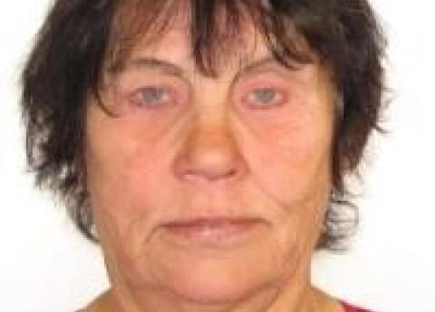 Policija meklē bezvēsts prombūtnē esošo Ritu Veinbergu; sieviete ir kurlmēma