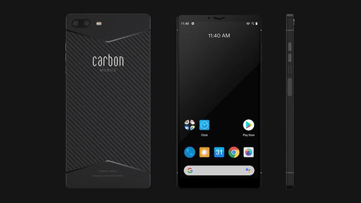 Carbon Mobiles izveidojis pirmo oglekļa šķiedras telefonu