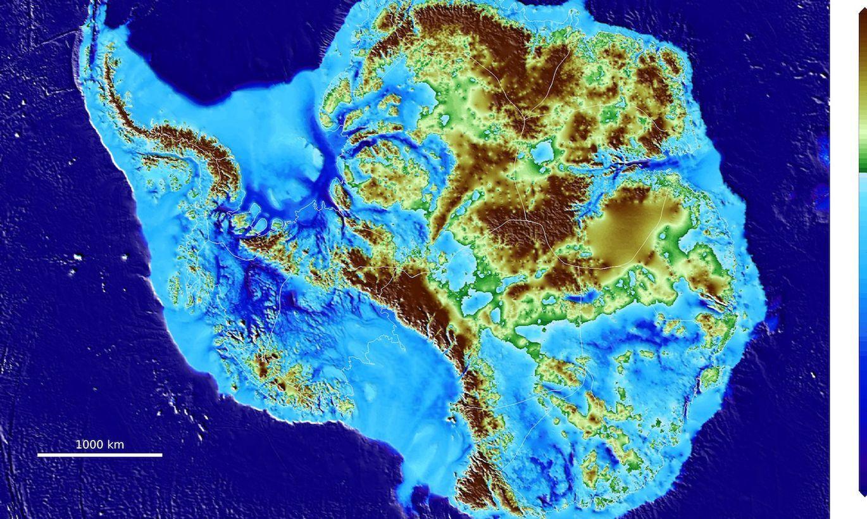 Antarktīdā pārsteidzošā ātrumā atkāpies milzu ledājs