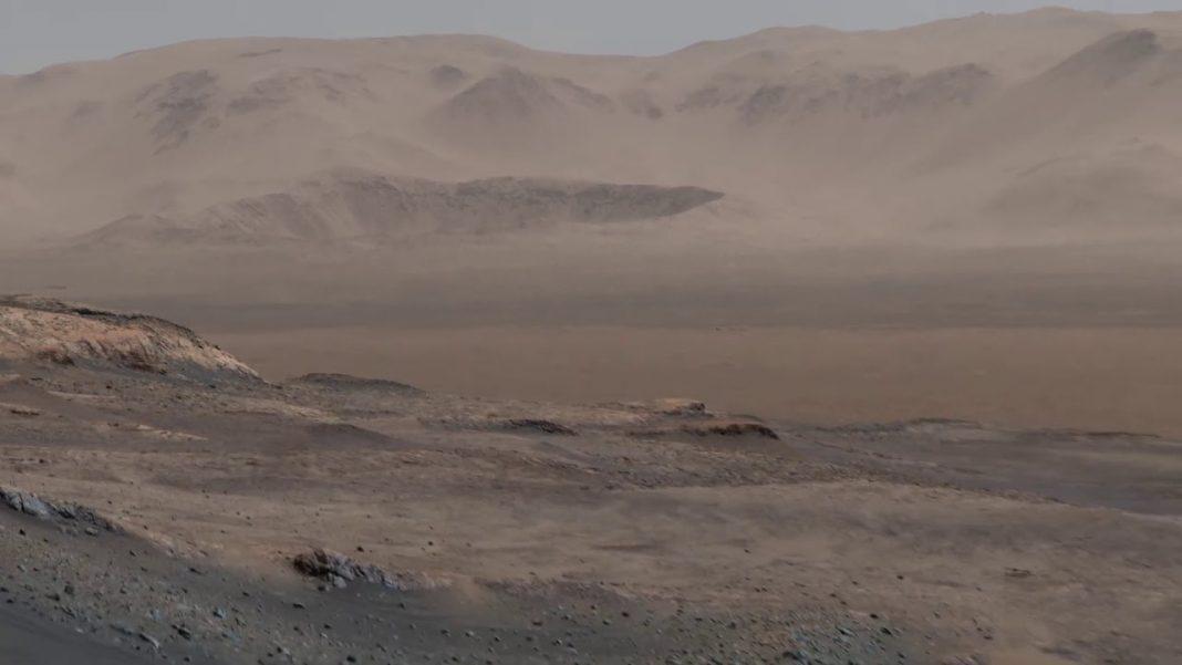 Curiosity robots uz Marsa uzņēmis foto ar 1,8 miljardiem pikseļu