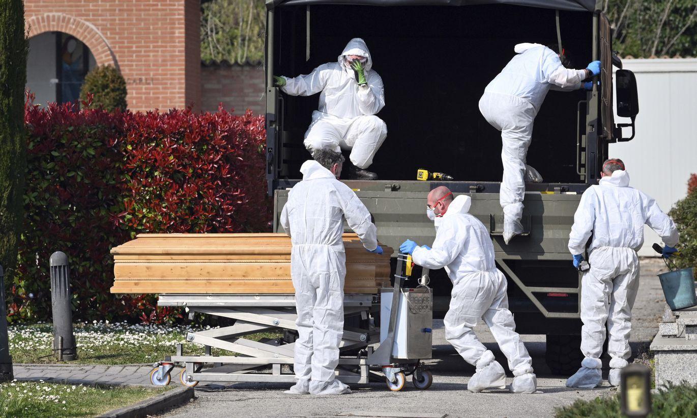 Itālija paziņo rekordlielu nāves gadījumu skaitu vienā dienā, ko izraisījis Covid-19