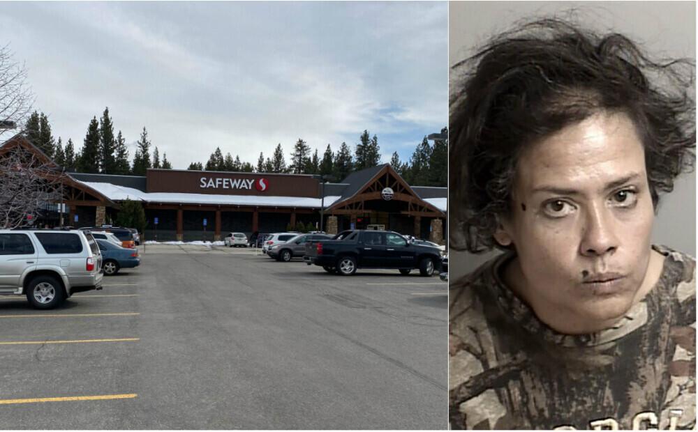 Kalifornijā par vandalismu aiztur sievieti, kura veikalā laizījusi preces