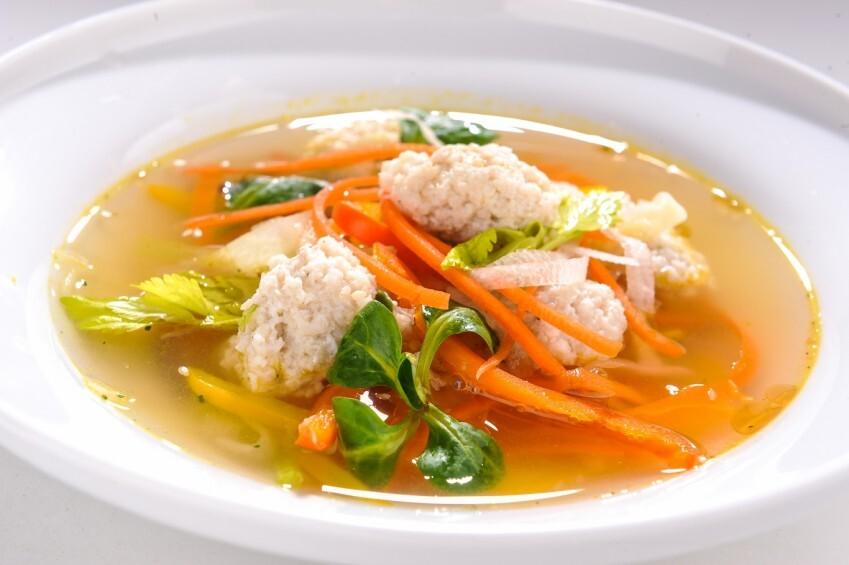 Ķiļķenu un zivs zupa