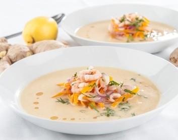 Kokosriekstu zupa