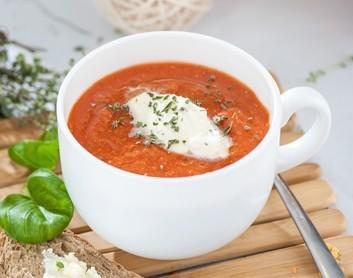Pikantā tomātu un lēcu zupa