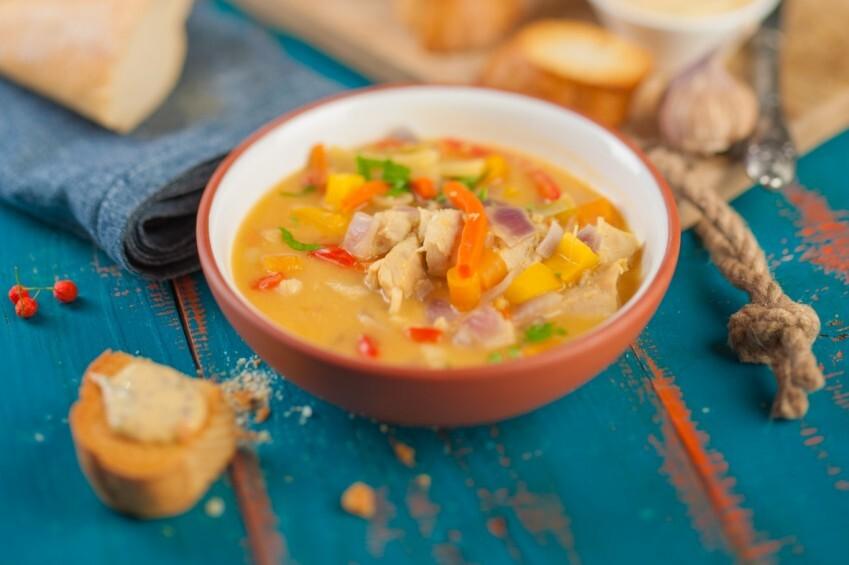 Taizemiešu karija zupa