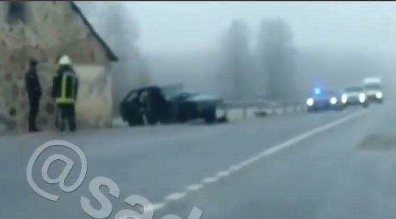Video: Nofilmētas vēl vienas smagas avārijas sekas Varakļānos