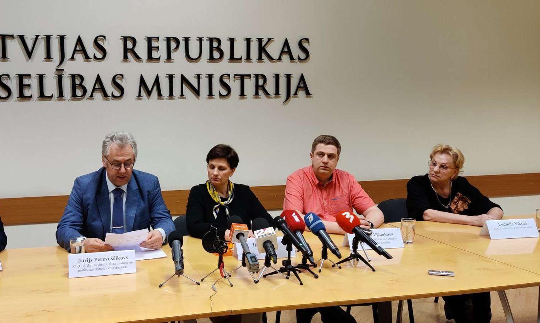 Video Tiešraide: Informē par pirmo koronavīrusa saslimšanu Latvijā
